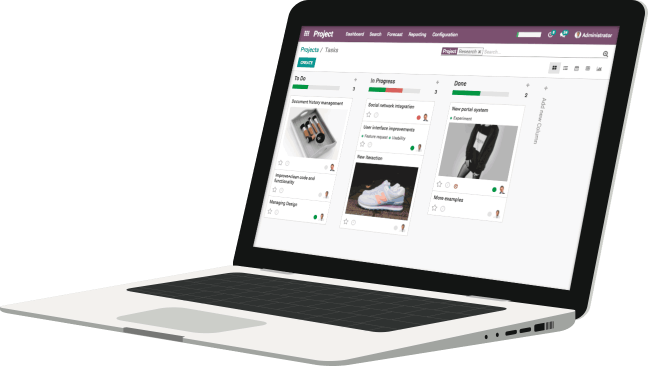 Odoo - Shaping the future of work